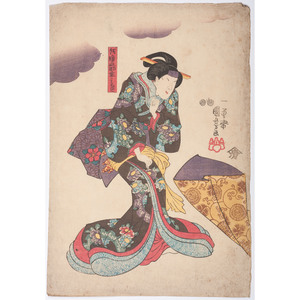 19th Century Japanese Woodblock Prints