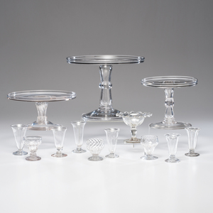 Syllabub Glasses and Stands