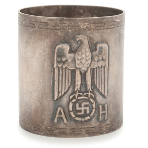 Adolf Hitler Formal Dinner Napkin Ring