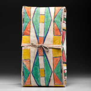 Plateau Painted Parfleche Envelope