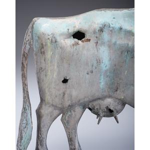 Copper Cow Weathervane