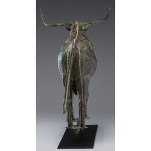 Copper Bull Weathervane
