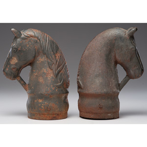 Horse Hitching Post Finials
