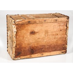 Deerskin Document Box