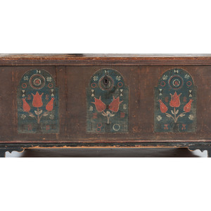 Pennsylvania Berks County Painted Blanket Chest
