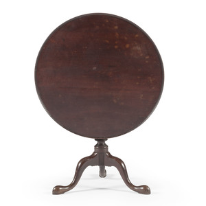 Chippendale Tilt Top Tea Table