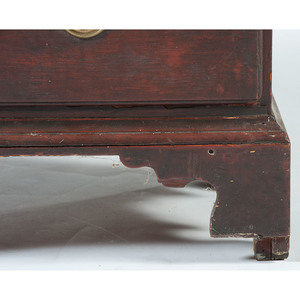 Chippendale High Chest of Drawers