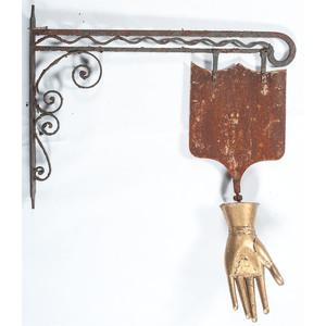 Glove Maker's Trade Sign