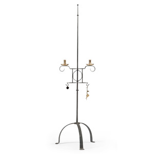 Forged Iron Candlestand