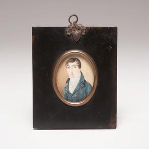 Portrait Miniature of a Man