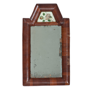 Courting Mirrors with Reverse-Painted Glass Panels