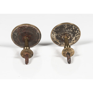 Bilston Enamel Curtain Tie Backs