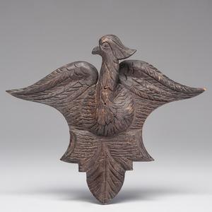 Folk Art Eagle Hanging Carving