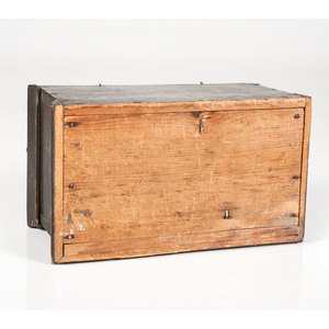 Pine Box in Old Paint
