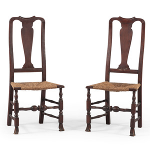 New England Queen Anne Side Chairs