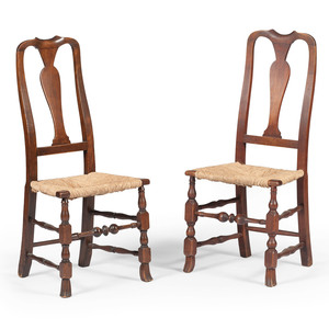 American Queen Anne Side Chairs
