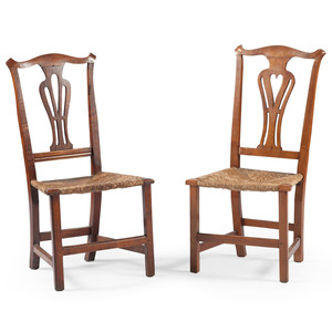 American Chippendale Side Chairs
