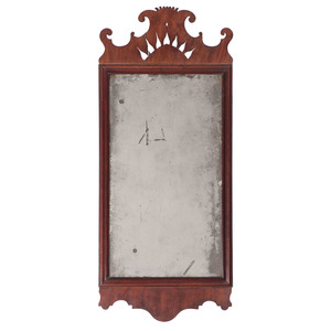 Chippendale Mirror with Cut-Out Crest