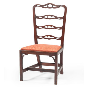 American Chippendale Ribbon Back Chair
