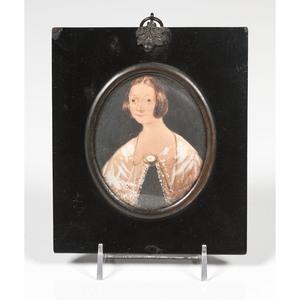 Portrait Miniature of a Woman