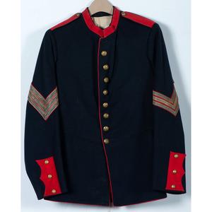 U.S. Model 1885 Mounted Services Dress Coat for Artillery