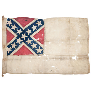 Rare Confederate Navy Flag Attributed to the CSS Alabama