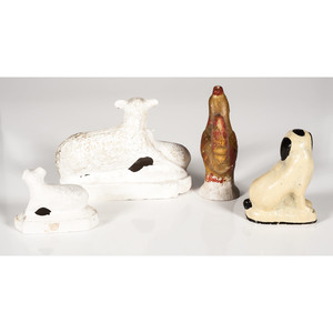 Chalkware Animal Figures