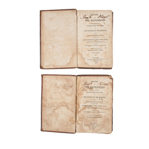 Lewis & Clark, First Edition, 1814, Two Volumes
