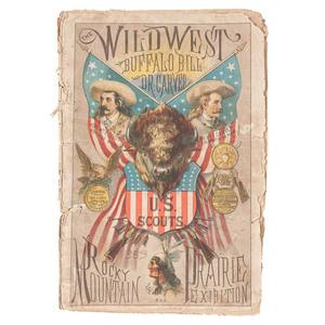 Buffalo Bill First Wild West Show Program