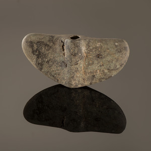 A Chlorite Semi-Lunar Winged Bannerstone, 8-1/2 in.