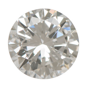 EGL Certified 0.75 Carat Round Brilliant Cut Diamond