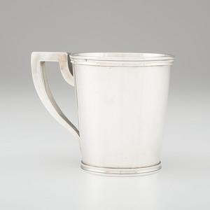 Duhme & Co. Coin Silver Mug