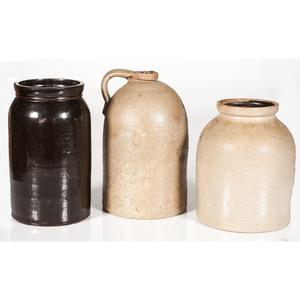 Stoneware Jars