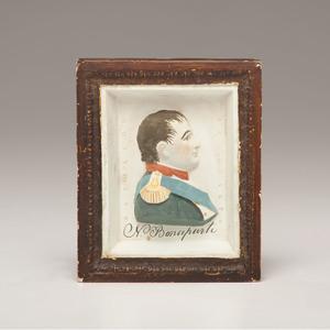 Napoleon Bonaparte Chalkware Portrait