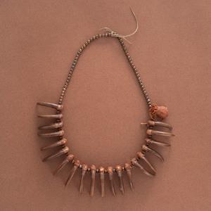 Blackfeet Bear Claw Necklace