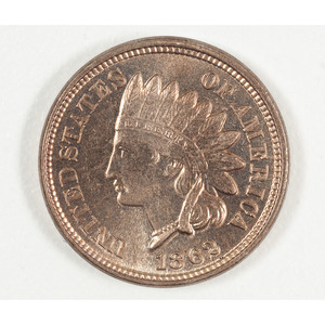 United States Indian Head Penny 1862