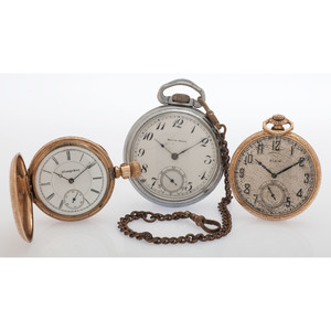 A Group of Vintage Pocket Watches