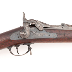 Springfield M1879 Star Marked Trapdoor Rifle