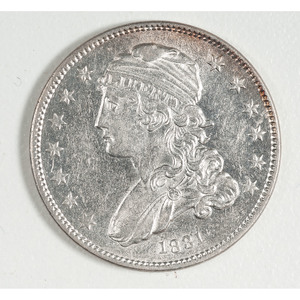 United States Capped Bust Quarter 1831