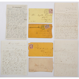 Civil War Correspondence from the Lincoln and Clark Families, Canandaigua, NY