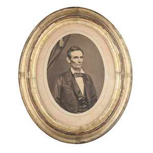 Abraham Lincoln Photograph Attributed to Roderick Cole