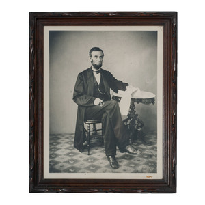 Abraham Lincoln Photograph Printed by Rice from the Gardner Negative