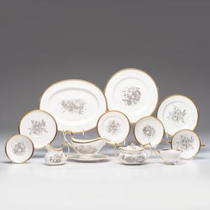Spode Porcelain Service, Chatham Pattern