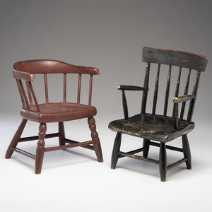 Painted Child's Chairs