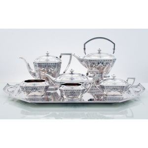 Black, Starr & Frost Sterling Tea and Coffee Service