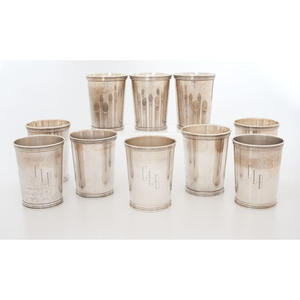 International and Manchester Sterling Julep Cups