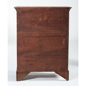 Rare Paint Decorated Chest of Drawers by Samuel Dunlap of New Hampshire
