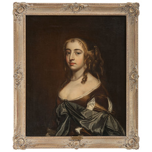 English School Portrait in the Manner of Peter Lely (1618-1680)