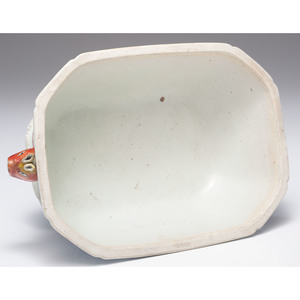 Chinese Export Tureen and Trays