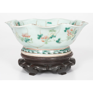 Chinese Bowl with Flared Rim